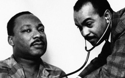 Dr. Martin Luther King and Dr. Walter P. Lomax
