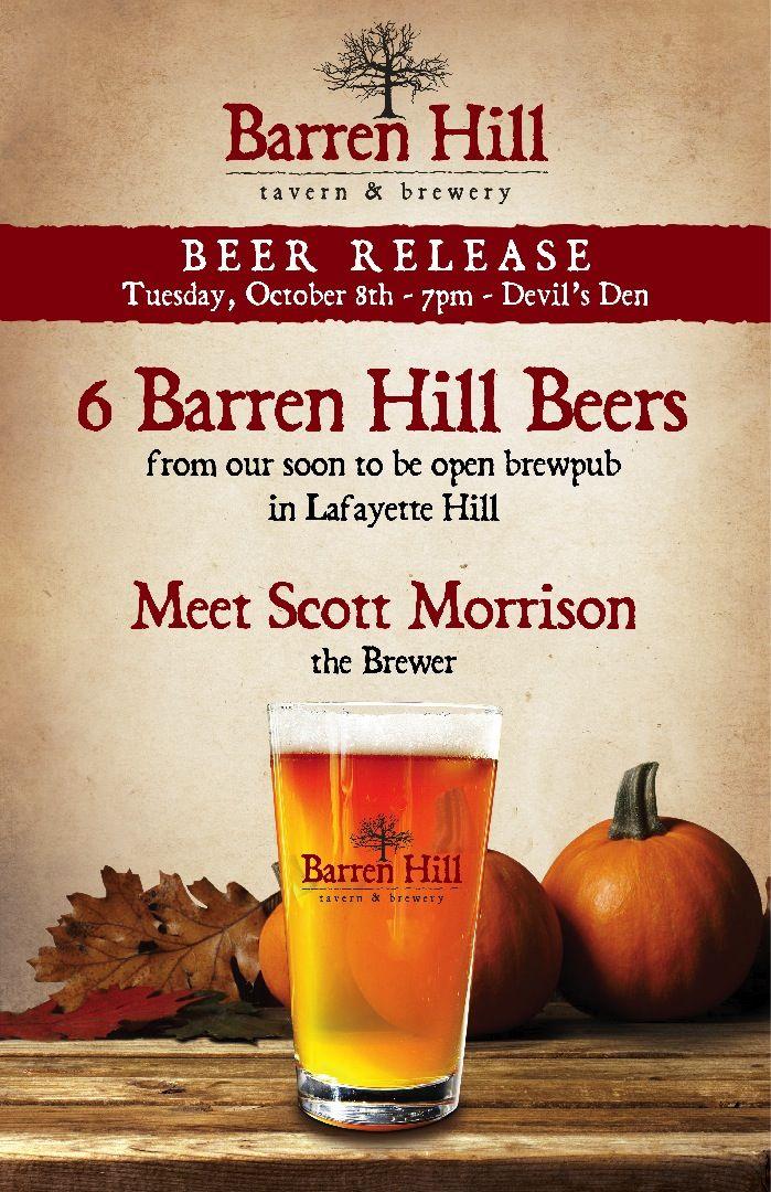Barren Hill Beer Release0001