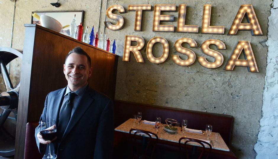Dave Magrogan at Center City's Stella Rossa.
