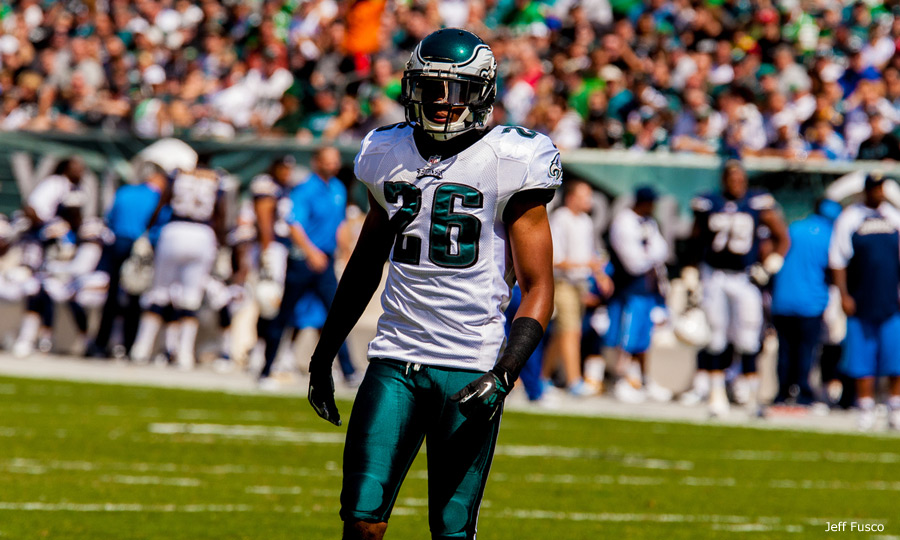 Eagles CB Cary Williams on field