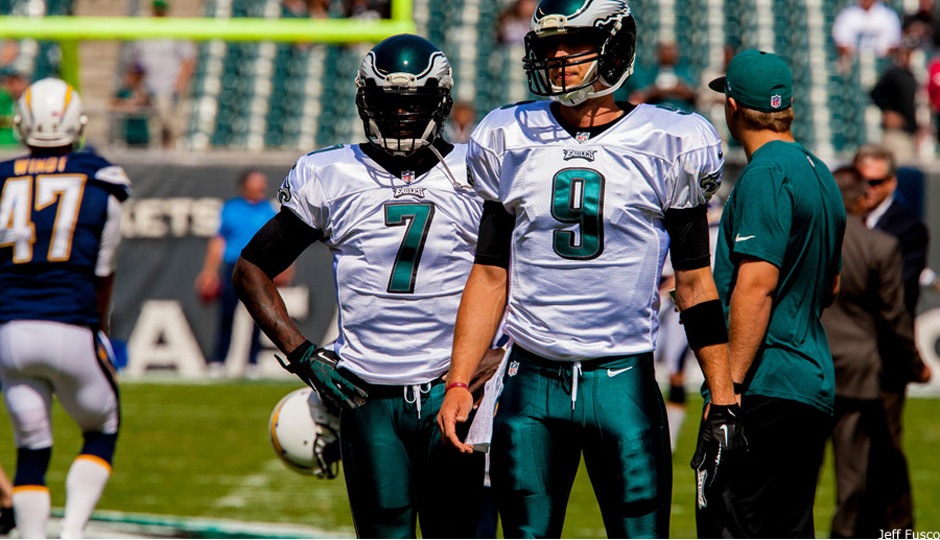 huge selection of 4d71f ccc10 Michael Vick Vs. Nick Foles Is Not a Black and White Issue