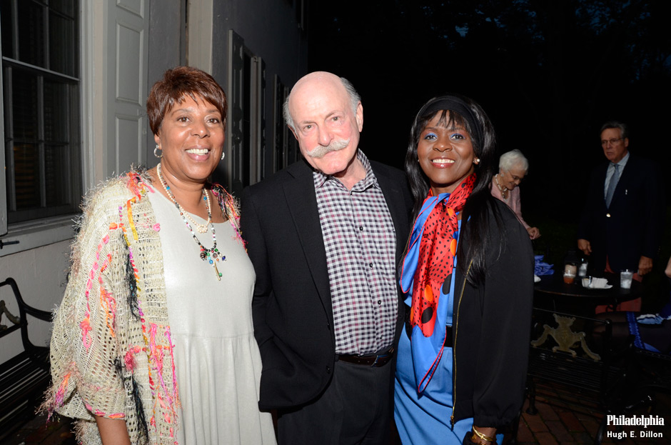 Recording Secretary - Mrs. Constance Ragsdale, Barry Trevor and Vanesse Lloyd-Sgambati