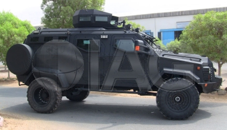 IAG-Sentinel-armored-tactical-vehicle-with-side-rails