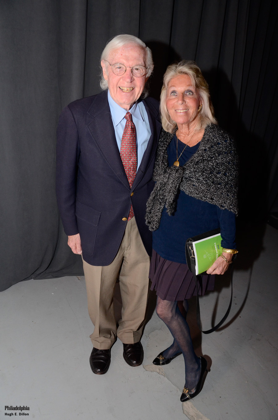Victor and Sally Friedman were excited to experience the Legacy Dinner.