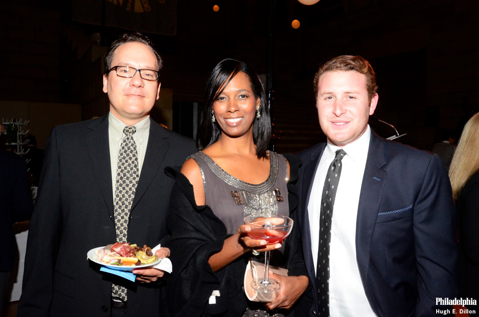 Mark Pfeifer, Nicole Johnson, Young Friends Planning Committee and Alexander Hankin, Young Friends Executive Board