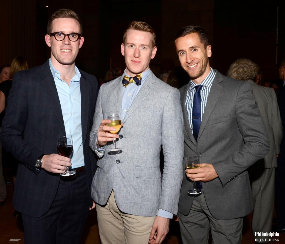 Sean Coghlan, Nick France and Kevin McMahon