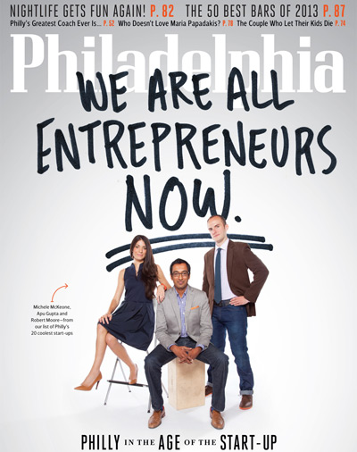 November Philadelphia Magazine Cover Start-Ups