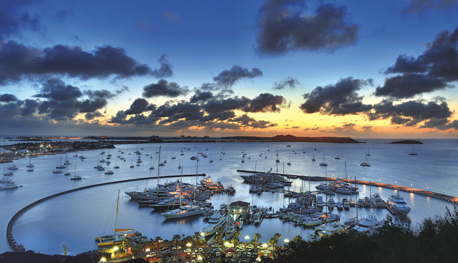 Marina Fort Louis in Marigot, St. Martin.