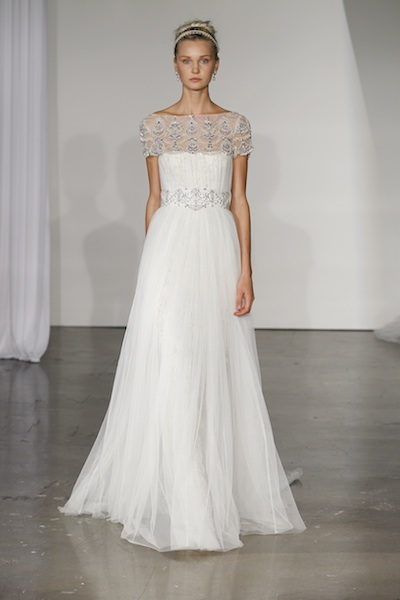 Look 13 from Marchesa's Fall 2013 bridal collection. Photo courtesy of the designer.