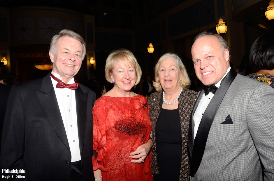 Richard and Diane Woosnam, with Marguerite Lenfest and Fred Hagen. On Monday night the Woosman hosted a lovely cocktail party for sponsors The Vision for Philadelphia Award honoring Dr. Keith Leaphart on November 18, 2013. at The Union League of Philadelphia. Tickets are now available. http://philahospitality.ticketleap.com/visionfor-philadelphia-award-honoring-dr-keith-leaphart/