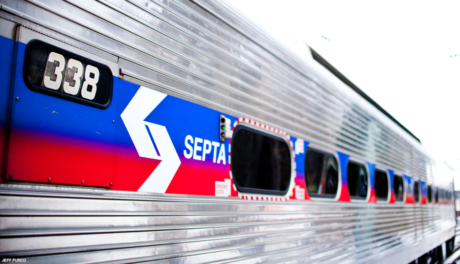 Septa regional rail train