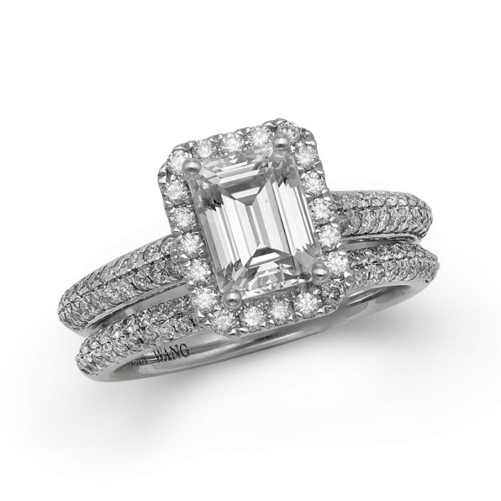 vera wang love 2 12 carat round split shank diamond engagement ring 2699999 - Vera Wang Wedding Ring
