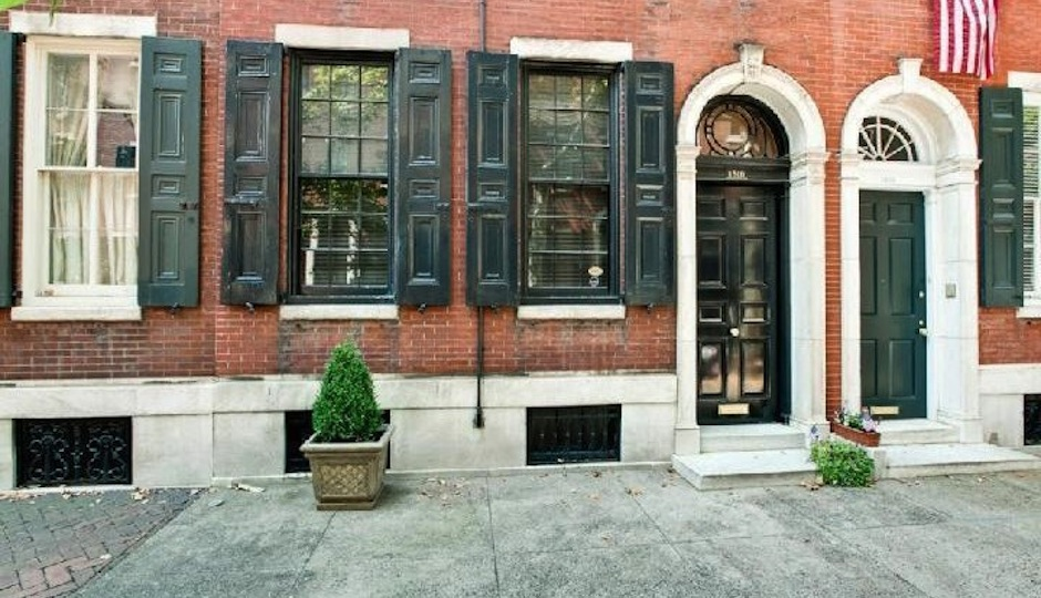 Exterior of 1816 Delancey Street
