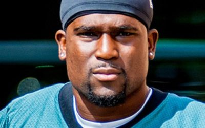 Eagles RB Bryce Brown with NFL cap