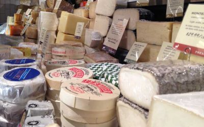The cheese counter at the new Di Bruno Bros.