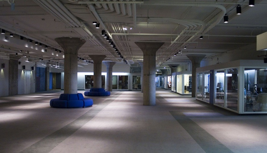 An interior shot of the Marketplace Design Center by MikeWebkist via Flickr.