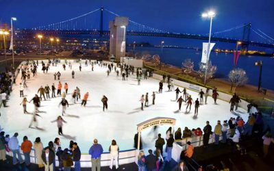George Sabatino and Avram Hornik are creating a winter wonderland on the Delaware.
