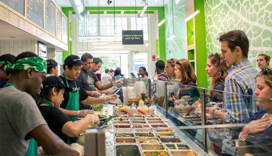 Sweetgreen comes to Center City.