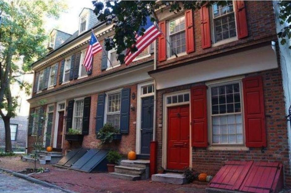 Exterior of 116 Cuthbert Street, Philadelphia, PA