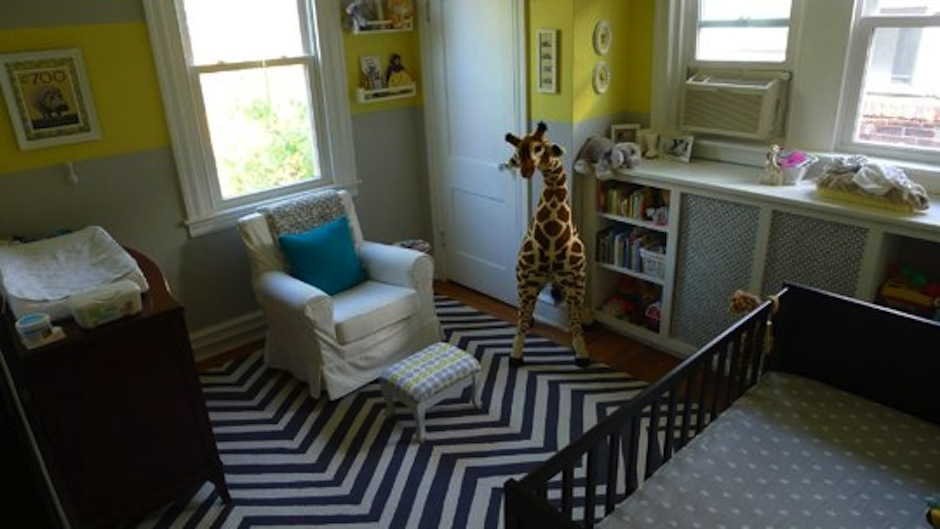 Charlie's Sunny Safari Room by Michelle Reader via ApartmentTherapy.com