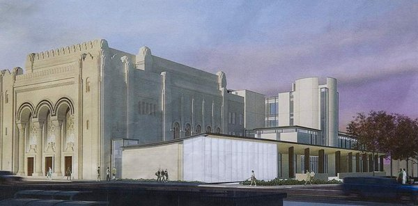 The 2012 rendering of the Rodeph Shalom addition.