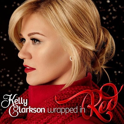 Kelly Clarkson Wrapped in Red Resized