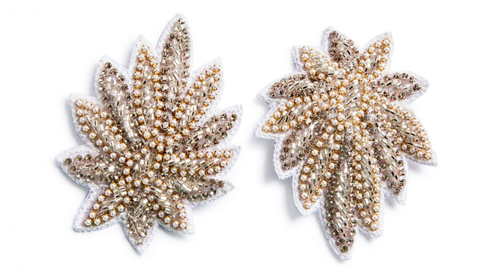 Crystal starburst hair clips, $15 each at Anthropologie, multiple locations.