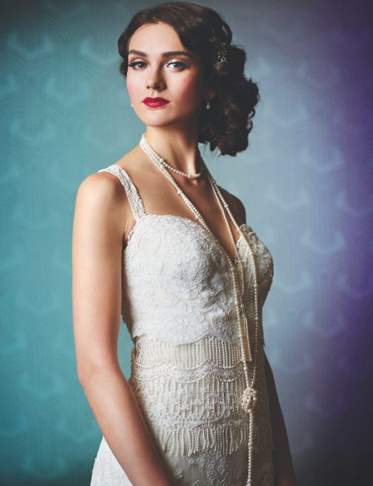 Photos our favorite 1920s inspired gatsby perfect wedding dresses