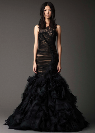 June from Vera Wang's Fall 2012 bridal collection. Photo courtesy of the designer.