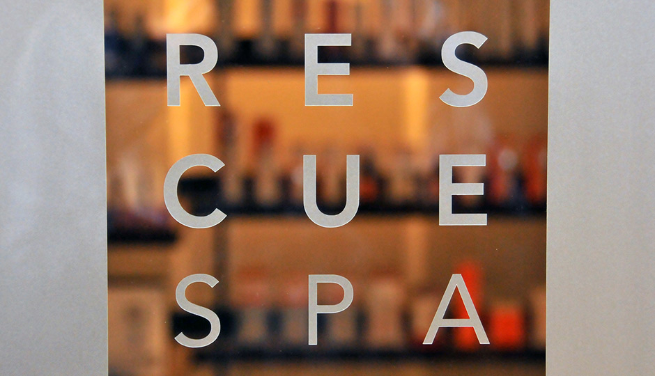 Rescue Spa is now at 1601 Walnut Street—they've got the entire third floor.