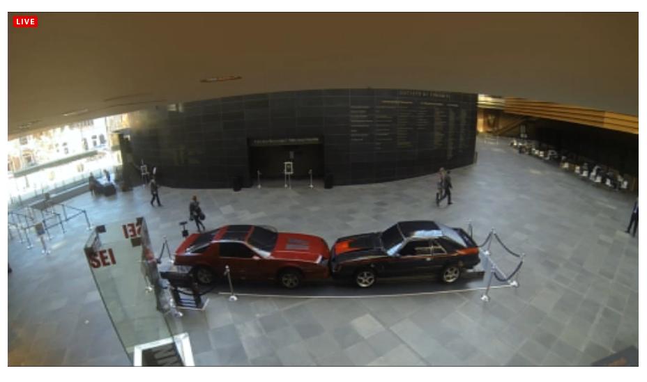 kimmel center webcam screenshot