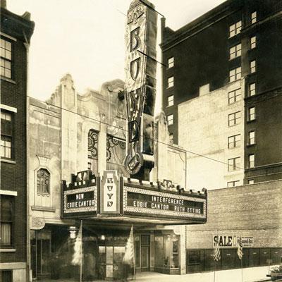Boyd Single Screen Movie Theater Philadelphia