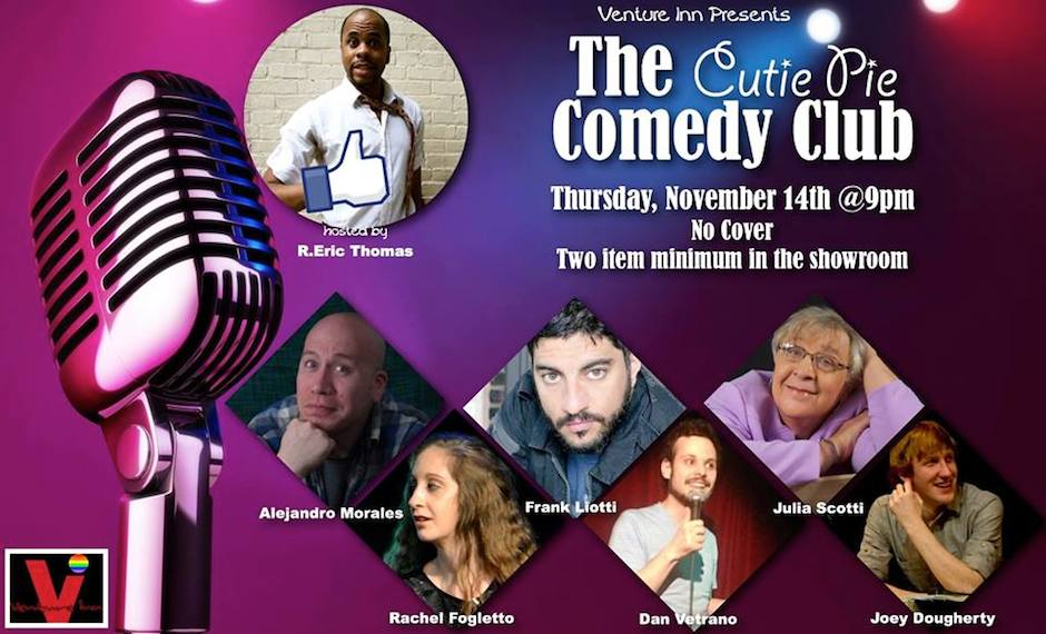 cutie pie comedy club