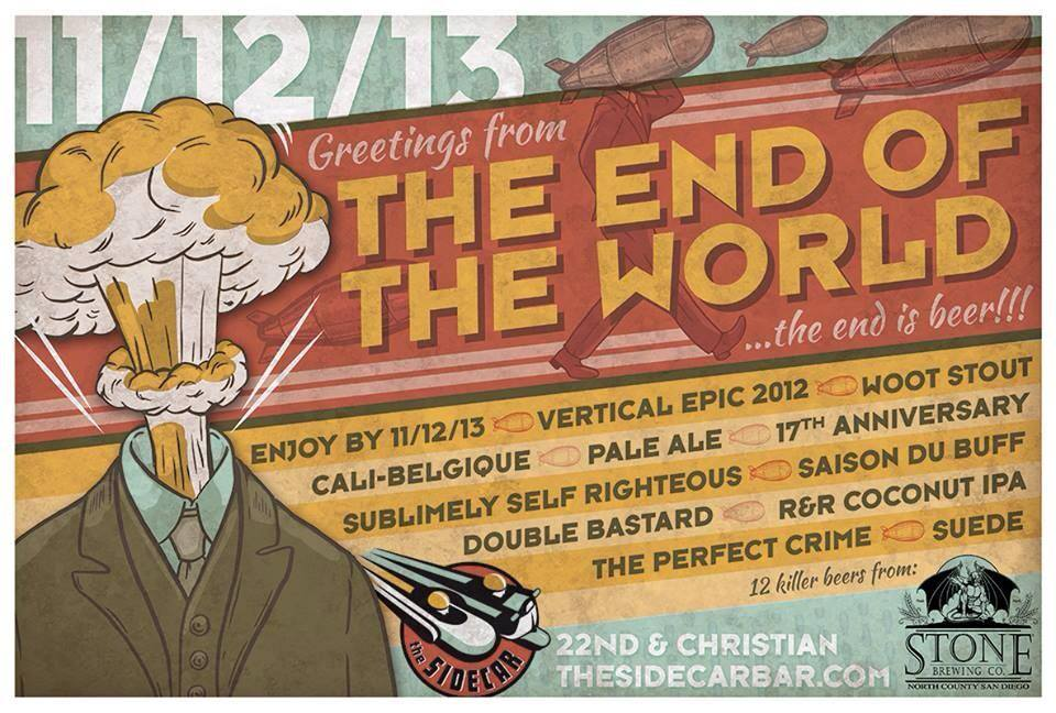 end of the world sidecar