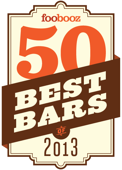 Foobooz 50 Best Bars - 2013