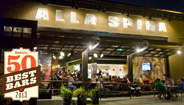 Alla Spina, one of the Best Bars in Philly | Photo by M.Edlow for GPTMC