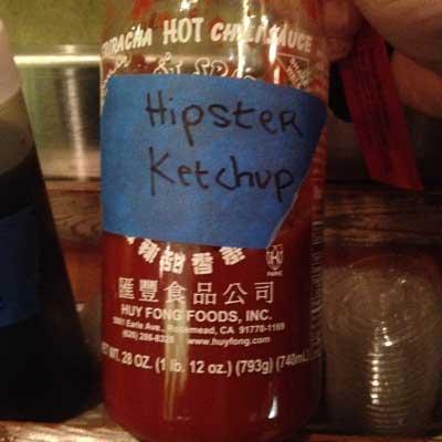 Wokworks - Sriracha is hipster ketchup