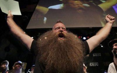 Jeff Langum, World Beard Champ