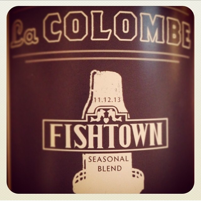 la colombe fishtown seasonal blen