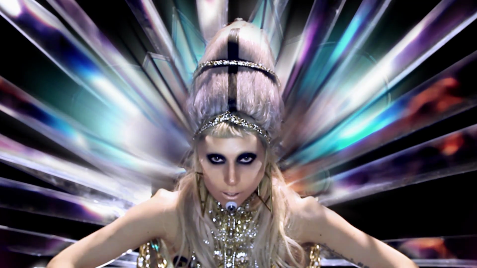 lady gaga outer space