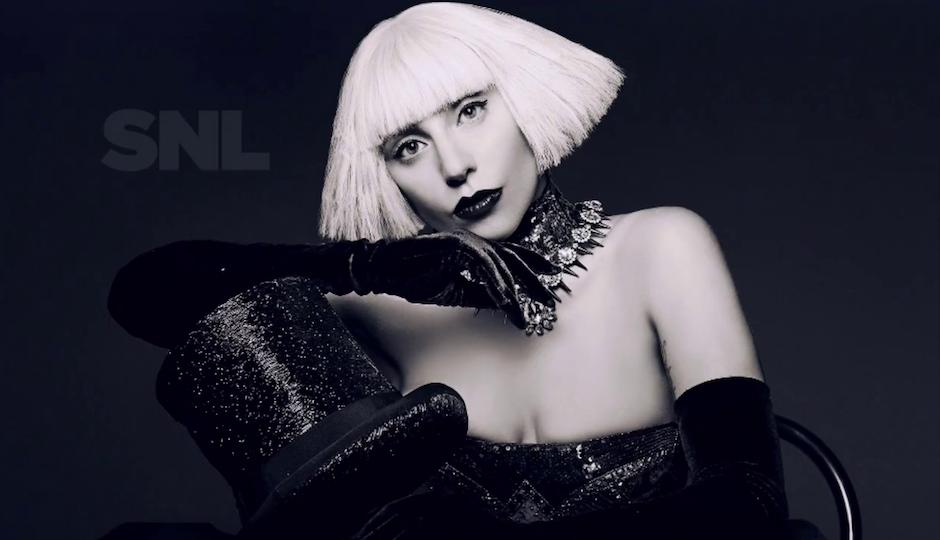 """Lady Gaga during her """"Born This Way"""" era."""