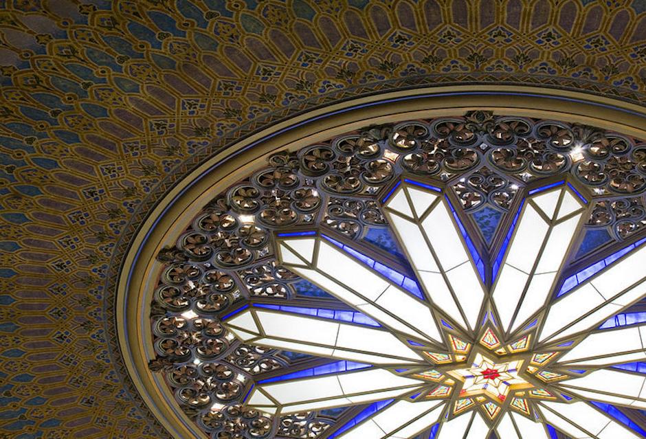 rodeph shalom ceiling