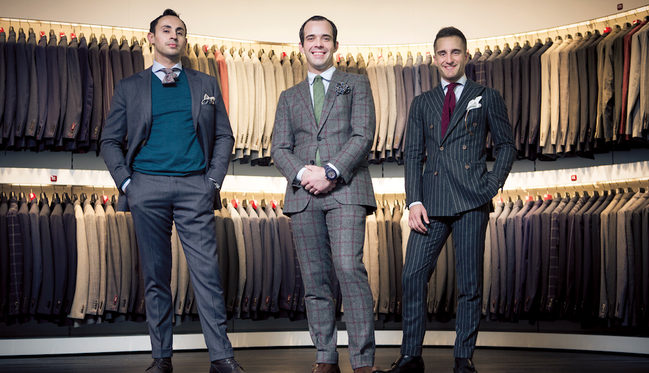 Our choice for Best Men's Boutique is the new Suitsupply in Rittenhouse.