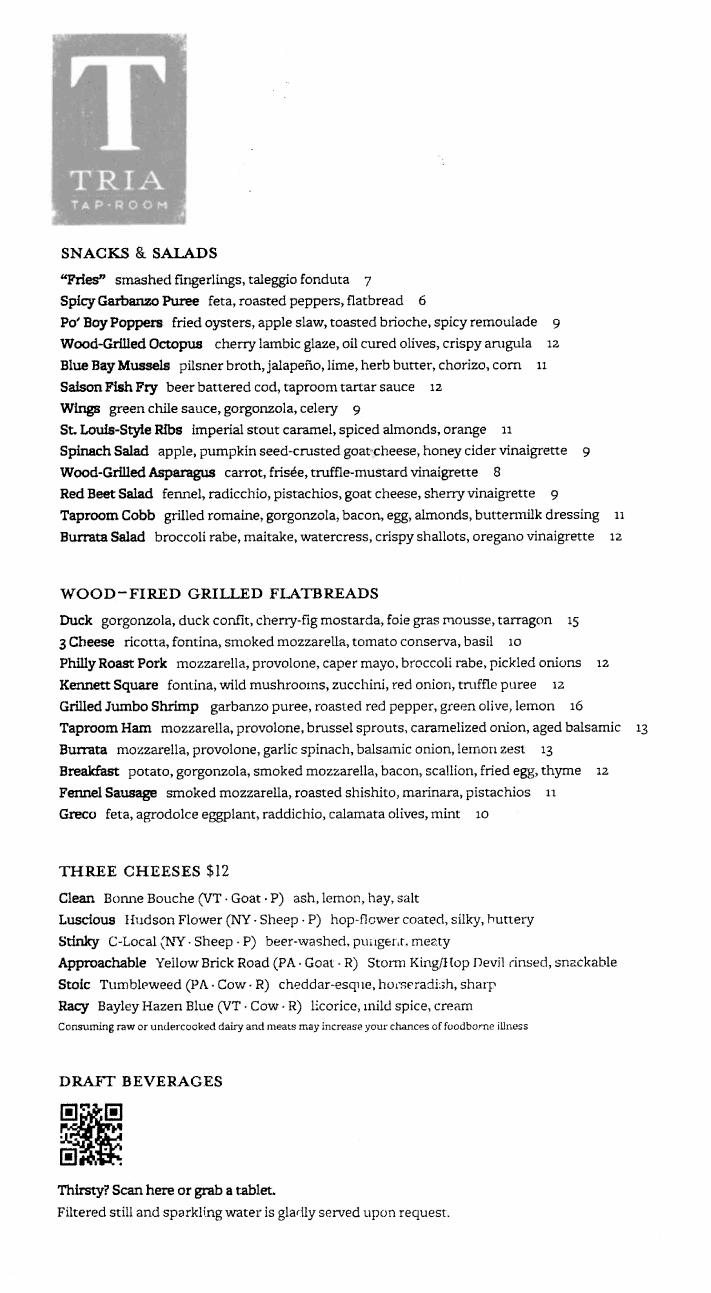 tria-taproom-menu