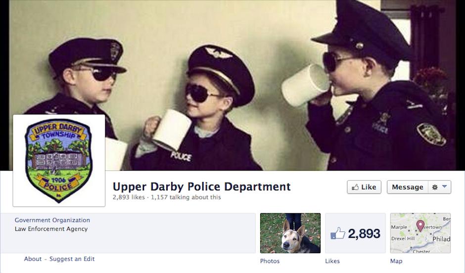 upper darby police