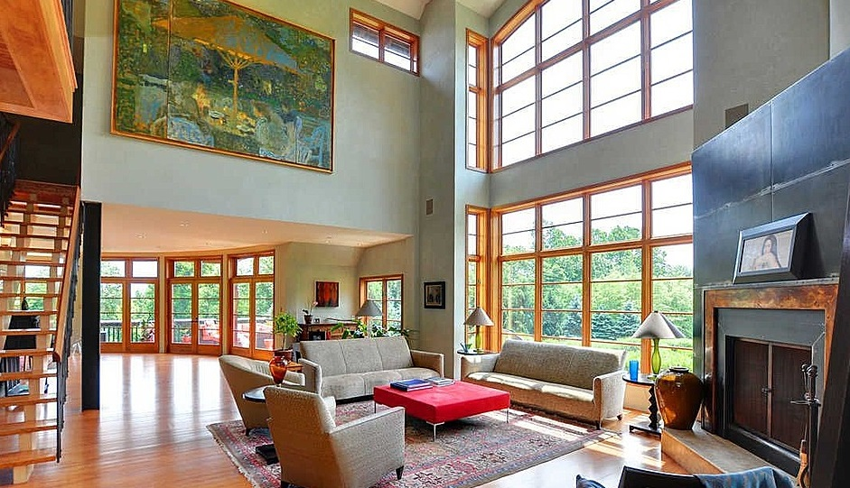 Living room of 1851 Horseshoe Trl., Chester Springs, PA
