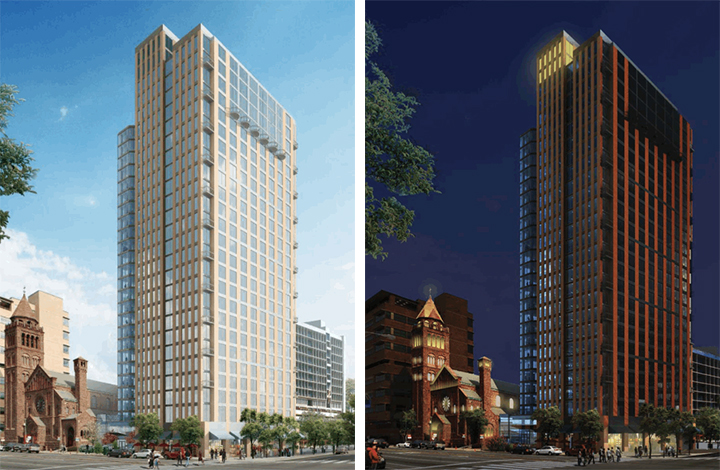 Radnor Property Group renderings of 38Chestnut.