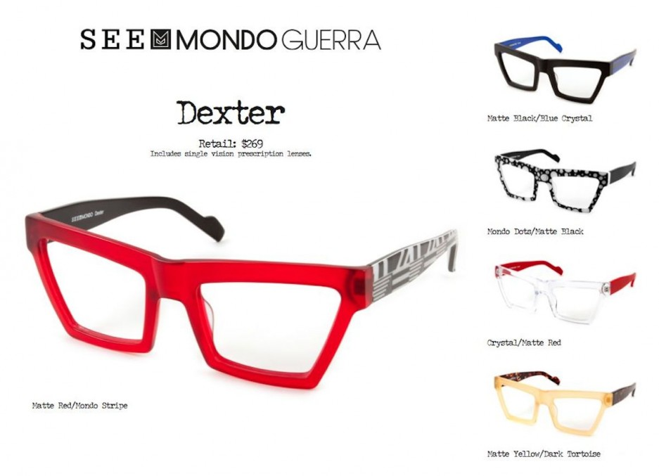 How To Check Eyeglasses Frame Size : Mondo Guerra Debuts Eyewear Line at SEE G Philly