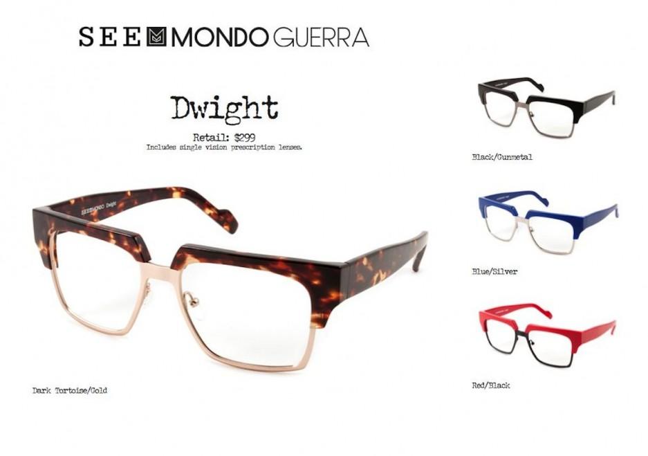 Mondo Guerra (Project Runway) eyewear ~ MONDO DRAPER # ...