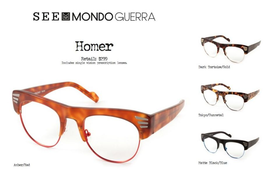 Mondo Guerra's collection for SEE Eyewear will launch in ...